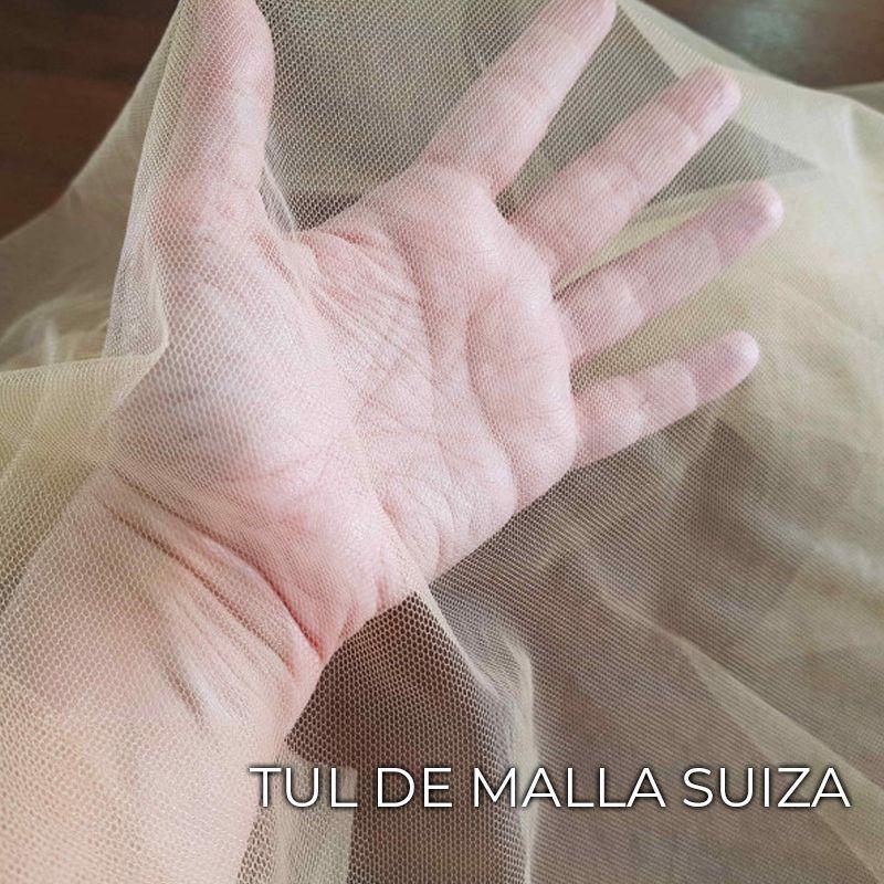 DIFERENTES TULES MALLA SUIZA TRABAJANDOLOS CON PELO COSIDO (17)