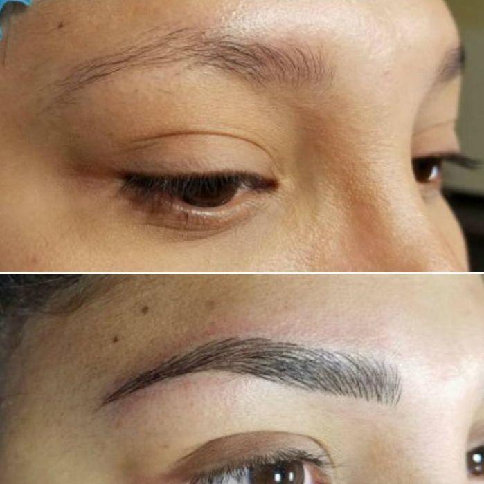 Micropigmentacion de Cejas Mujer Moure Mallorca (2)