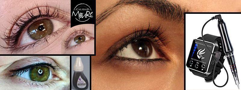 Micropigmentación de ojos Moure Mallorca