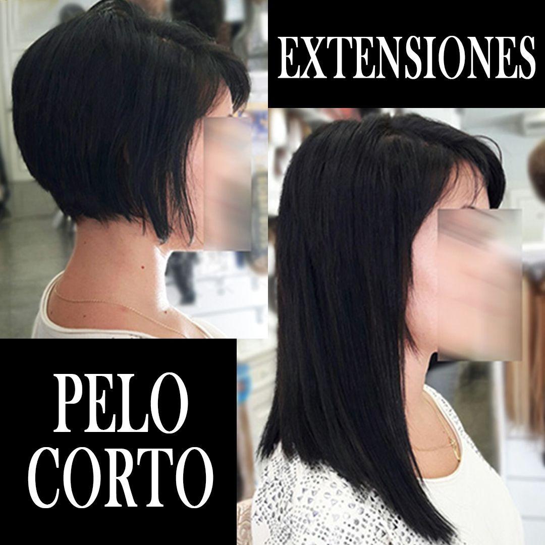 EXTENSIONES PELO MUY CORTO PALMA DE MALLORCA (2)